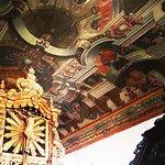 Pintura teto da Capela