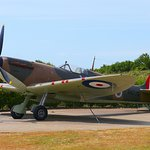 The iconic Spitfire here which needs no introductions