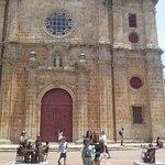 Frente de la Iglesia de San Pedro Claver el esclavo de los esclavos
