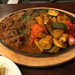 Roasted Lamb with Roasted Vegetables