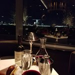 Fine wine and cocktails and the view.