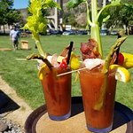 The imperial Bloody Mary is excellent!