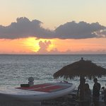 Fabulous sunset from Hemingway's deck