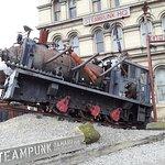 Image taken in front of Steampunk HQ Oamaru