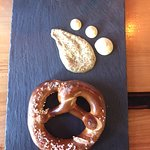 Pretzel to share with Friends