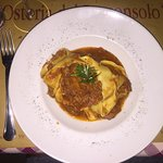 Pappardelle ragù wild boar, absolutely amazing !