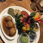 Healthy Mezze Platter