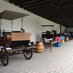 A vinícula também conta com um museu.