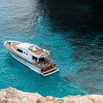 INGE III @ our favorite swimming spot  in Crystal Lagoon Comino Island :)