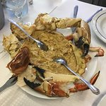 Sapateira (stuffed crab)