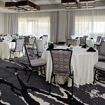 Our large meeting space provides the perfect place for large groups and events