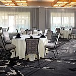 Dining or classroom style seating, our meeting space can be customized to meet your event needs