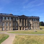 Calke Abbey from the outside