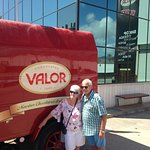 Our friends at Valor Chocolate factory