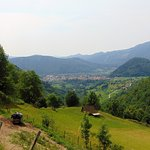 looking down to Tolmin
