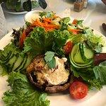 Portobello salad