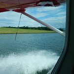 Taking off from Lake Hood