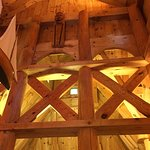 High rafters and a warm glow