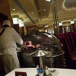 Prime rib cart - sliced tableside