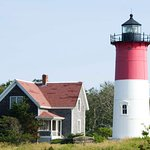 Nauset Light, on the bluff above, gives its name to Nauset Light Beach.