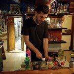 Louis best Bartender ever! Hey Louis, it's 5 pm!!! LOL