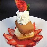 Strawberry Pound Cake from our 2018 Summer Feature Menu - Made from scratch!