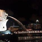 鱼尾狮公园照片