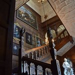 The main staircase at Temple Newsam