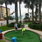 Grandsons love mini golf!