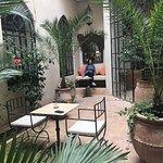 Exclusive courtyard to Junior Suite