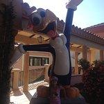 Woody a mascote do parque
