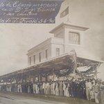 Inauguração da Estação de trem executada por Ramos de Azevedo