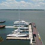 More moored boats/yahts