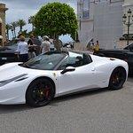 Outside of the Monte Carlo Casino