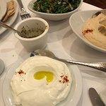 Labneh, Tabbouleh and Hummus
