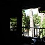 部屋のバルコニーからの眺め