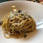 Fungi Spaghetti with Truffle Oil