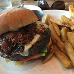 Monday Happy Hour Burger