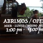 Open afternoons & evenings / closed Tuesday