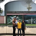 Visiting U.S. Space & Rocket Center, Huntsville with family was a great learning experience.