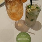 Capirinha and guarana soda