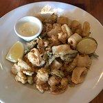Delicious Crispy Calamari