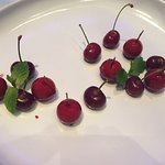 Some are real cherries, other are foie gras