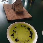Fico olive oil and bread - divine!