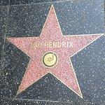 好莱坞星光大道照片