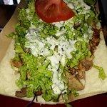 Mixed meat kebab (lamb and chicken)