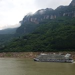 The stunning Yangtze River Gorge scenery