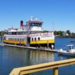 Our excursion ship