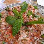 Christian Quarter - delicious chopped salad