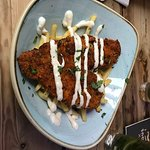 overcooked tasteless fish & awful fries. £16 ha.